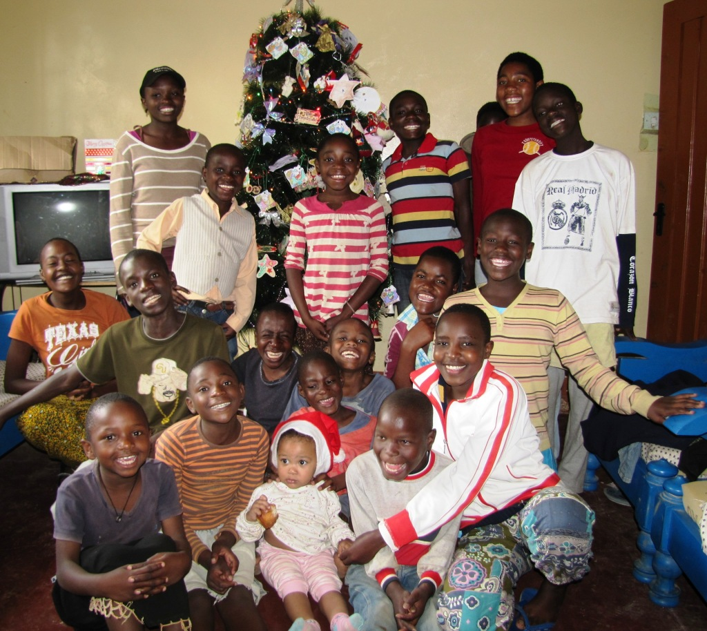 These Zion Home kids are ready for Christmas!