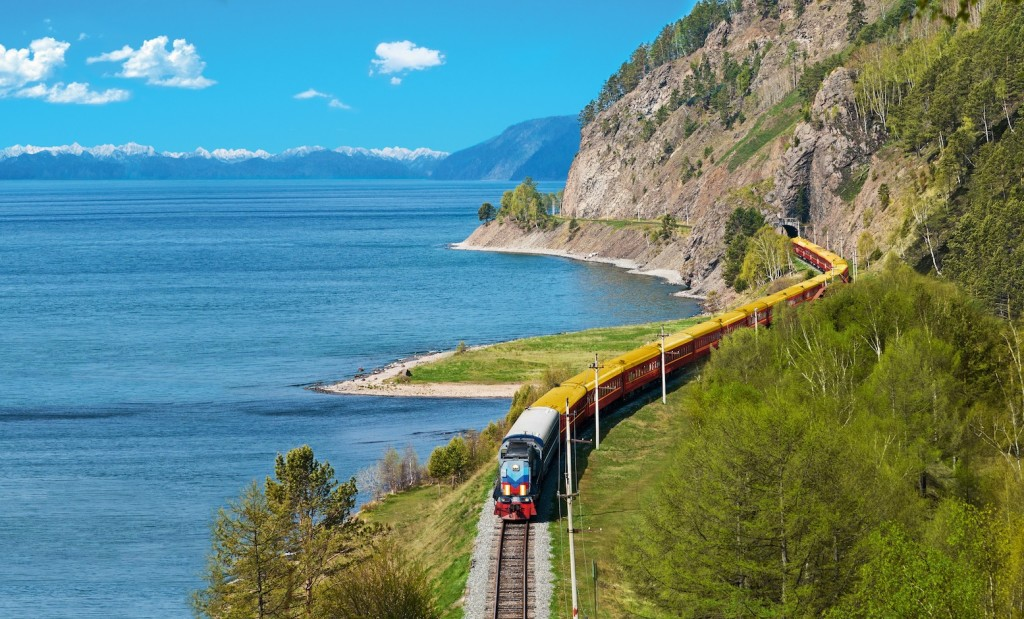 The Trans-Siberian Railway connects Moscow to Beijing via Mongolia. As one of the largest rail networks in the world, the Trans-Siberian Railway offers an alternative to flying for those travelling between Europe and Asia.
