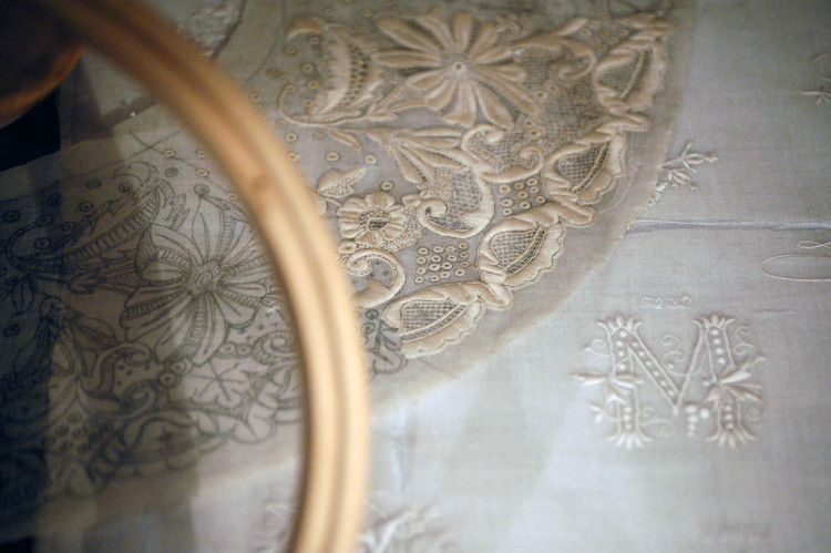 Embroidery in the Textile Museum