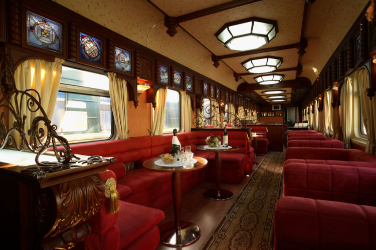 The Gold Eagle Trans-Siberian Express