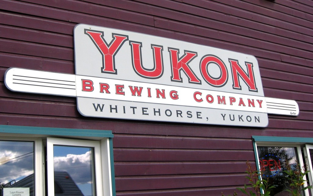 The Yukon Brewing Company in Whitehorse. Featuring delicious local brews. Credit: Caitlin Boros