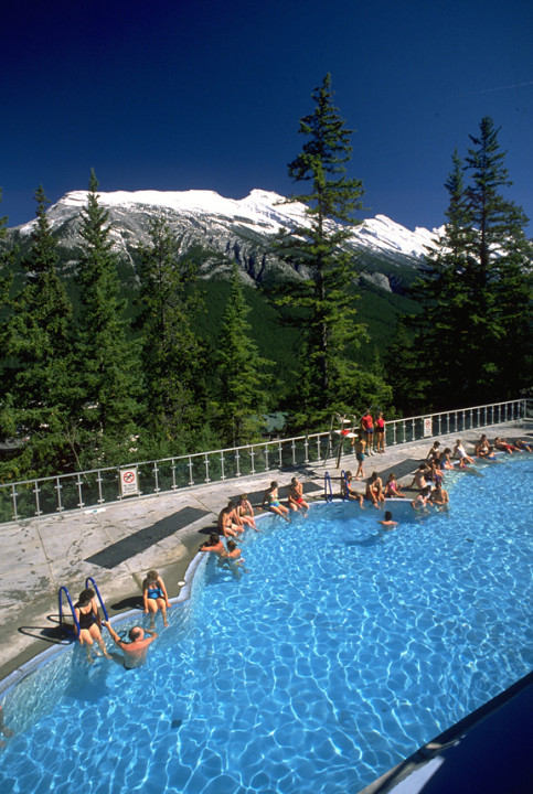 Relax in Banff's famed Hot Springs. Credit: Banff.ca