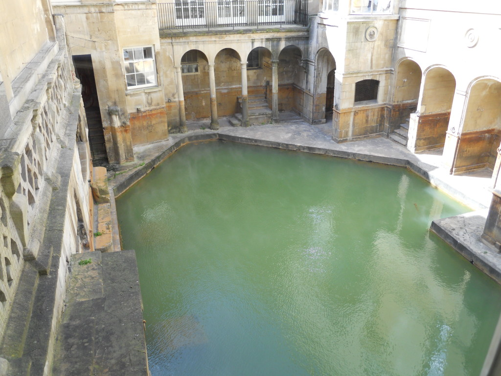 The Sacred Pool of Sulis. Credit: Caitlin Boros