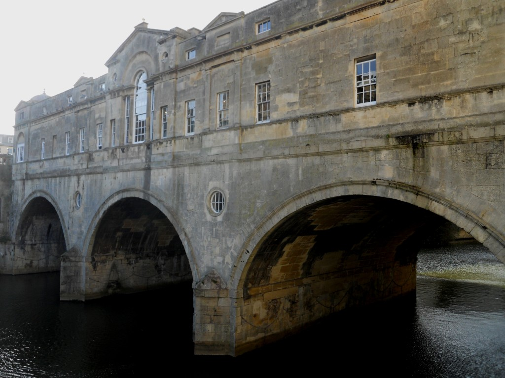 The South Side of the Pulteney Bridge in Bath. Credit: Caitlin Boros