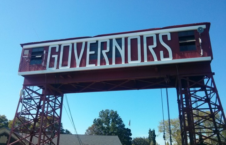 Entrance to Governors Island. Credit: Caitlin Boros