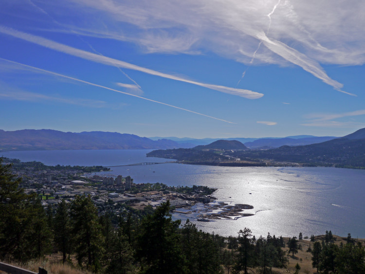 Nestled in the mountains of British Columbia in Canada is a place every hiker and wine lover should visit at least once. It's hard not to find a good view in Kelowna, and when the sun is out and the sky is clear, head straight for the nearest mountain and climb. Credit: Nicola Brown