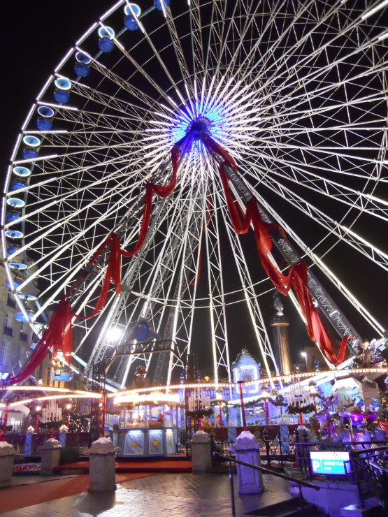 The 'grand roue' in Lille. Credit: Caitlin Boros