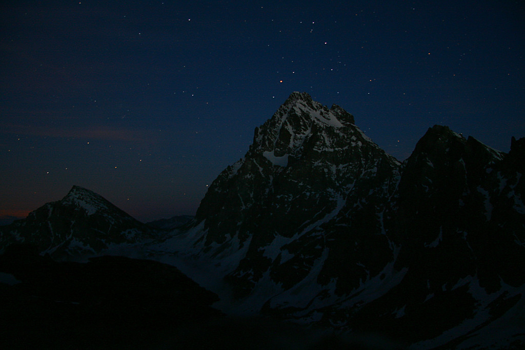 Monviso at night - Credit: Giancarlo, from flickr.com