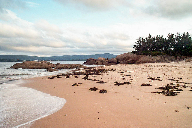 Nova Scotia's Ingonish Beach