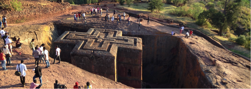 Bet Gyorgis church in Lalibela. Credit: Sam McManus