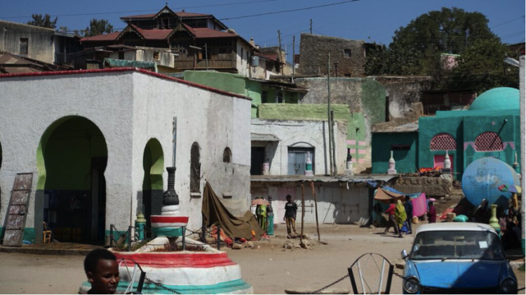 The ancient trading city of Harar. Credit: Sam McManus
