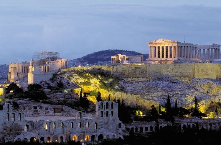Acropolis, Parthenon, Athens, Greece