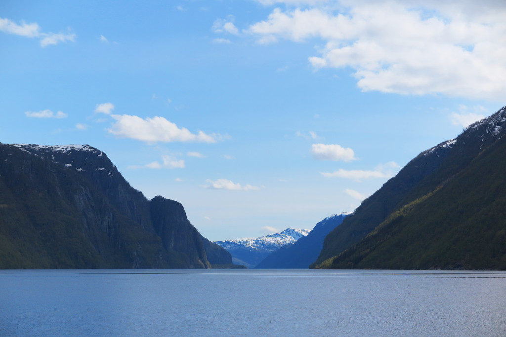 fjord, water