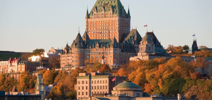 Château Frontenac in Quebec City